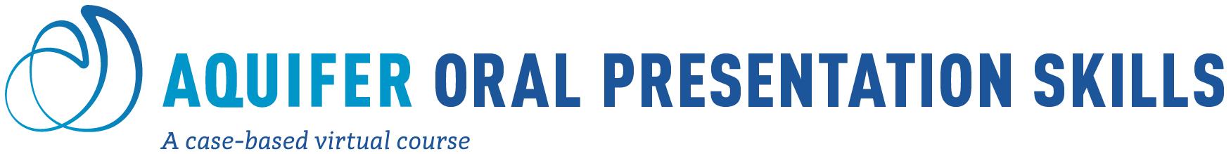 Aquifer Oral Presentation Skills