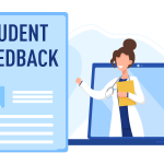 Student feedback summary graphic